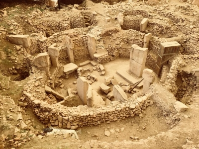 The Archaeological Site of Göbeklitepe (T) by Stanislaw Warwas