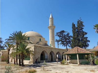 Hala Sultan Tekke and the Larnaka Salt Lake Complex (T) by Argo