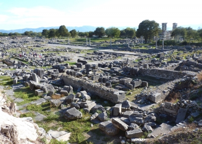 Archaeological site of Philippi by Solivagant