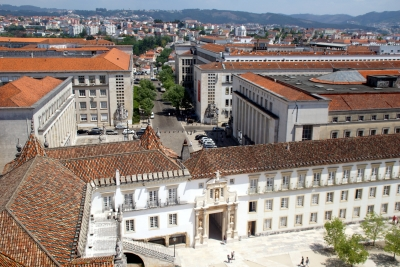 University of Coimbra by Hubert