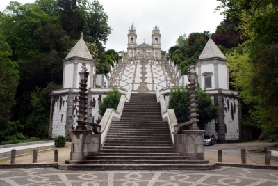 Sanctuary of Bom Jesus do Monte in Braga by Hubert