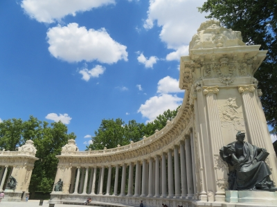 Site of the Retiro and the Prado in Madrid (T) by Kyle Magnuson