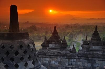 Borobudur by Clyde