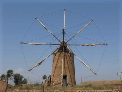 Mediterranean Wind Mills (T) by Zoe Sheng