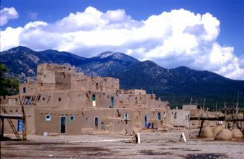 Taos Pueblo by Solivagant