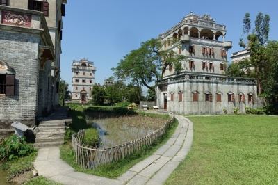 Kaiping Diaolou by Nan