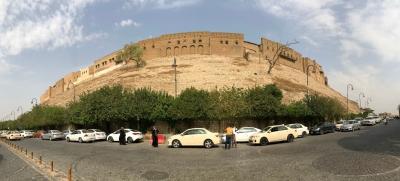 Erbil Citadel by Michael Novins