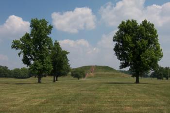 Cahokia Mounds by Ian Cade