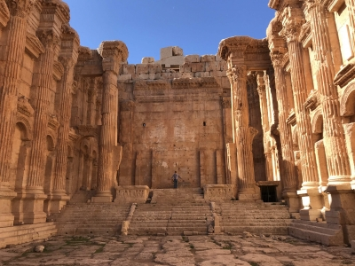 Baalbek by Martina Ruckova