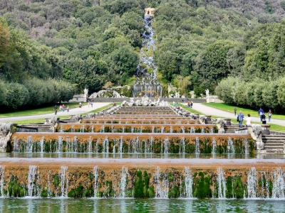 Royal Palace at Caserta by Clyde