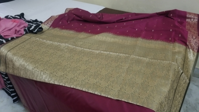 Iconic Saree Weaving Clusters of India (T) by Zoe Sheng