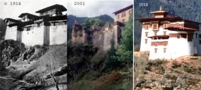 Ancient Ruin of Drukgyel Dzong (T) by Zoe Sheng