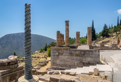 Archaeological Site of Delphi by Ilya Burlak