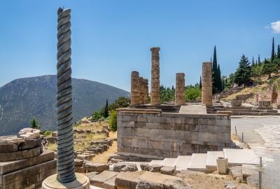 Archaeological Site of Delphi by Ilya Burlak