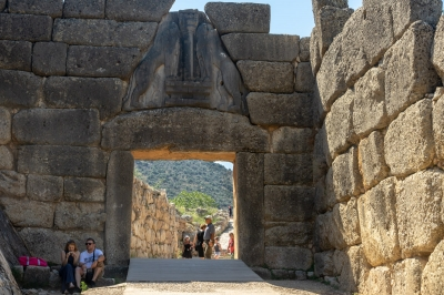 Mycenae and Tiryns by Ilya Burlak