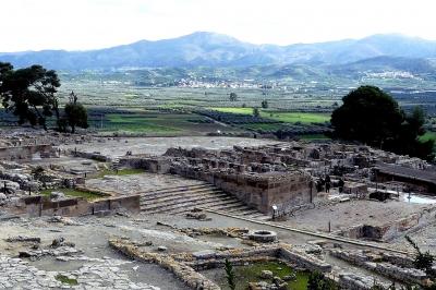 Minoan Palatial Centres (Knossos, Phaistos, Malia, Zakros, Kydonia) (T) by Solivagant