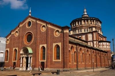 Santa Maria delle Grazie by Ilya Burlak