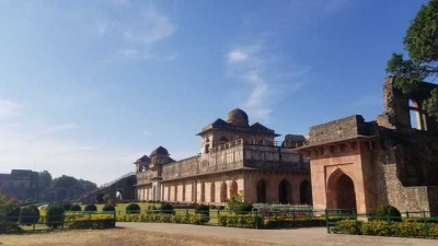 Group of Monuments at Mandu, Madhya Pradesh (T) by Zoë Sheng
