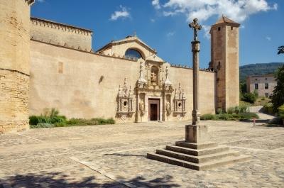 Poblet Monastery by Ilya Burlak