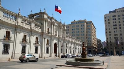 La Moneda Palace (T) by Nan