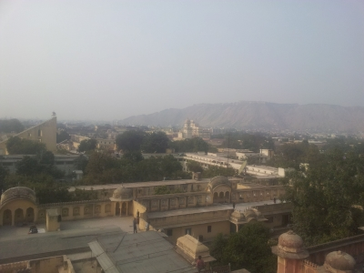 Jaipur City, Rajasthan by Nan