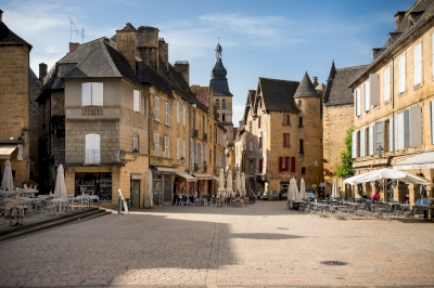 Centre ancien de Sarlat (T) by Ilya Burlak