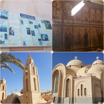 The monasteries of the Arab Desert and Wadi Natrun (T) by Zoë Sheng