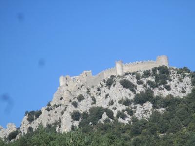Cité de Carcassonne et ses châteaux sentinelles de montagne  (T)