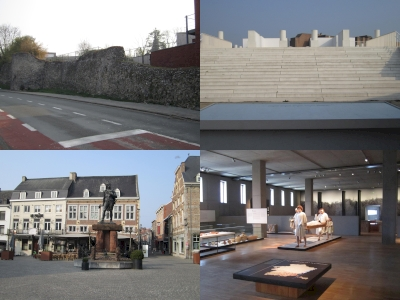 Le tronçon Bavay-Tongres de la chaussée romaine Boulogne-Cologne situe sur le territoire de la Région wallonne (T) by Peter Alleblas