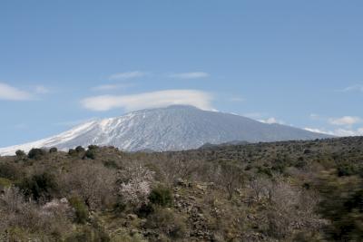 Mount Etna by Jakob Frenzel