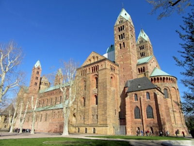 Speyer Cathedral by Jay T