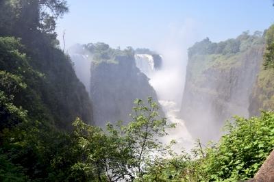Victoria Falls by Randi Thomsen