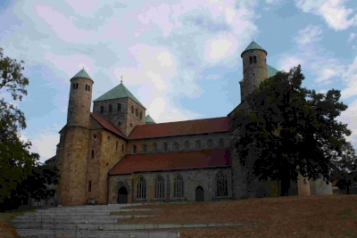 Hildesheim Cathedral and Church by Jakob Frenzel