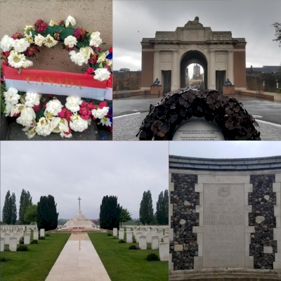 Sites funéraires et mémoriels de la Première Guerre mondiale (Front Ouest) (Belgium) (T) by Zoë Sheng