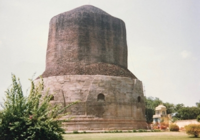 Ancient Buddhist Site, Sarnath, Varanasi, Uttar Pradesh (T)