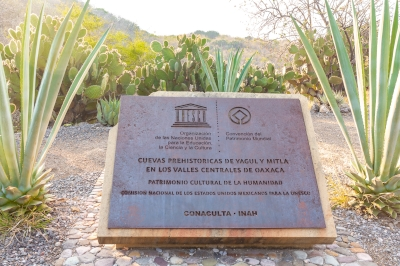 Caves of Yagul and Mitla by Carlo Sarion