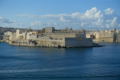 Knights Fortifications around the Harbours of Malta (T) by Nan