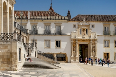 University of Coimbra by Ilya Burlak