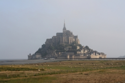 Mont-Saint-Michel by Jakob Frenzel