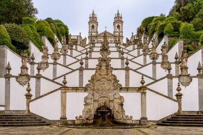 Bom Jesus do Monte by Ilya Burlak