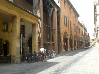 The Porticoes of Bologna (T) by Matejicek