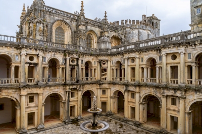 Convent of Christ in Tomar by Ilya Burlak