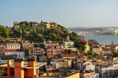 Historical Lisbon, Global City (T) by Ilya Burlak