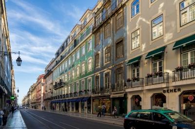 Pombaline Lisbon (T) by Ilya Burlak