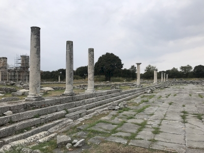 Archaeological site of Philippi by Joel Baldwin