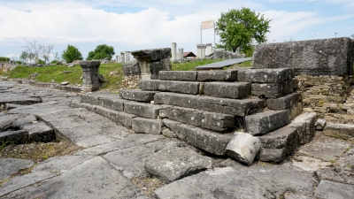 The ancient town of Nicopolis ad Istrum (T)