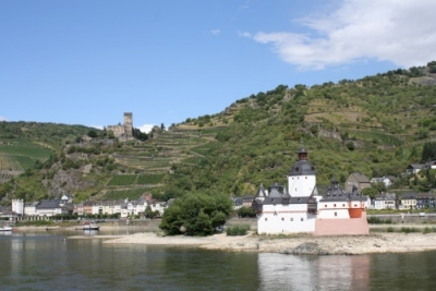 Upper Middle Rhine Valley by Jakob Frenzel