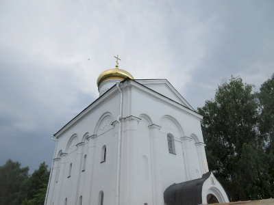Saviour Transfiguration Church and St. Sophia Cathedral in the town of Polatsk (T)