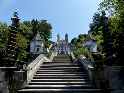 Sanctuary of Bom Jesus do Monte in Braga by Clyde