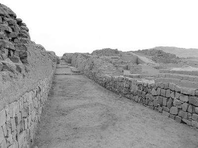 Archaeological Complex of Pachacamac (T) by Clyde